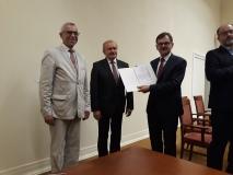 2 Posłowie Jan Duda i Krzysztof Maciejewski